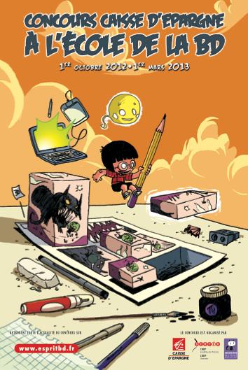 Concours « À l'École de la BD » 2012-2013