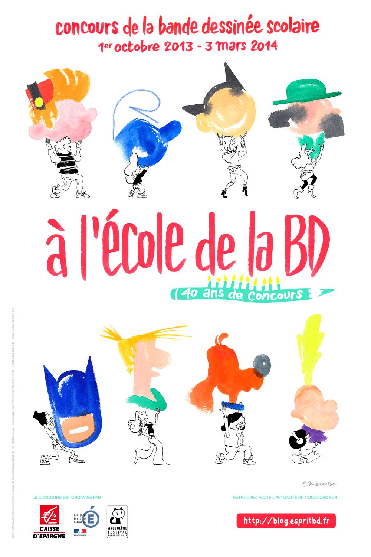 Concours « À l'École de la BD » 2013-2014